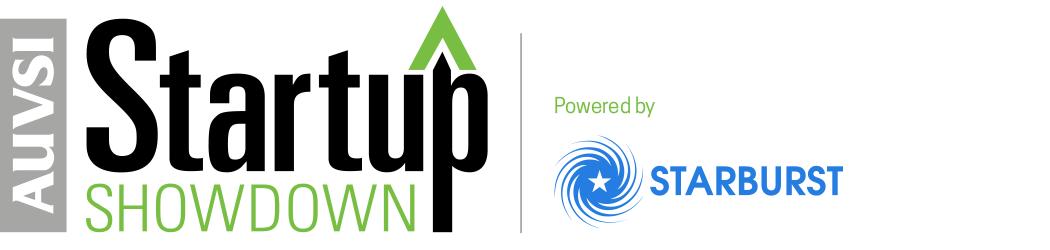 Logo of AUVSI Startup Showdown powered by Starburst