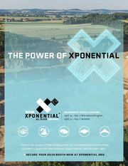 Front cover of the AUVSI XPONENTIAL exhibitor prospectus